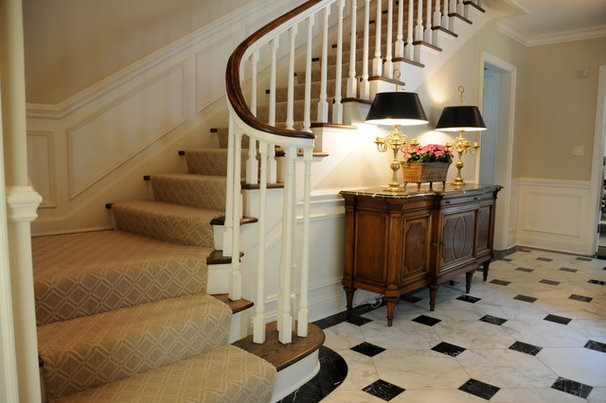 Traditional Staircase by Interiors By Holly