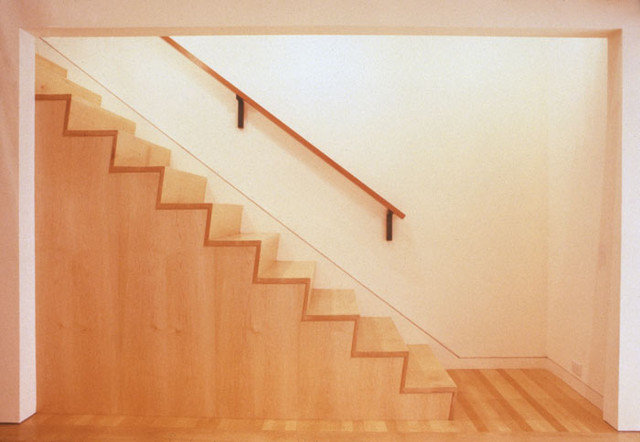 Contemporary Staircase by PMWArchitects