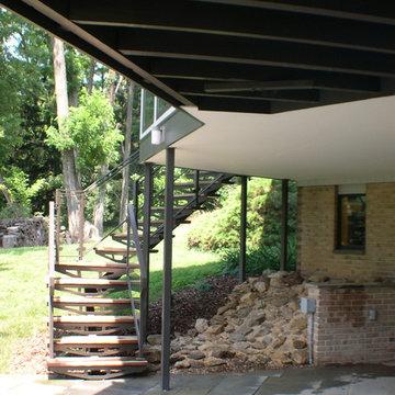 Pond House near Kennett Square, PA