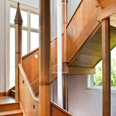 modern staircase by Beckwith Interiors