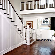 Traditional Staircase by William Guidero Planning and Design