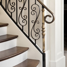 Traditional Staircase by Bernard Andre Photography