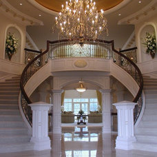 Traditional Staircase by Hughes Interior Design