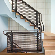Contemporary Staircase by Mike Schwartz Photo