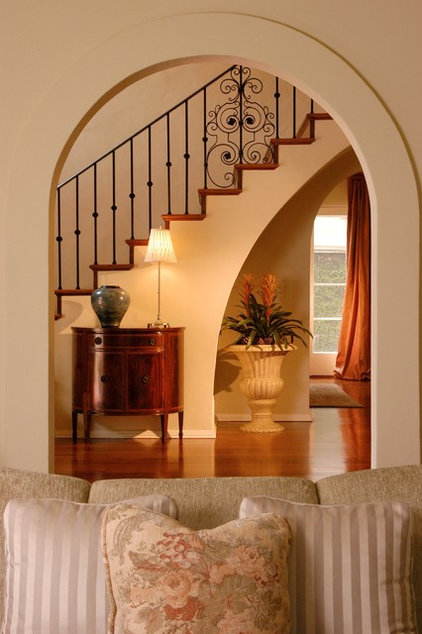 Mediterranean Staircase by Steve Wallace Design