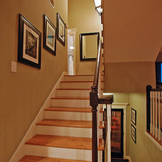 Contemporary Staircase by Luxe Design Group