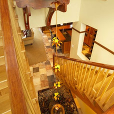 Contemporary Staircase by JALIN Design, LLC