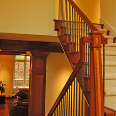 Contemporary Staircase by Shaw Design Associates, P.A.