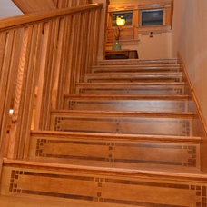 Craftsman Staircase by Kaufman Construction Design and Build