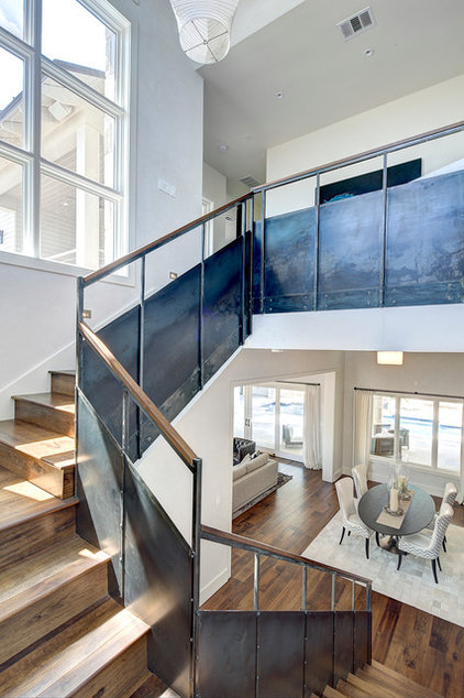 Industrial Staircase by Premier Partners Homes