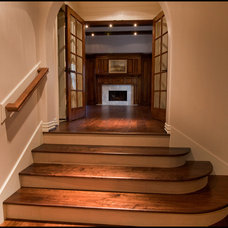 Traditional Staircase by LLB Traditional Design