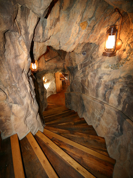 Small Basement Man Cave