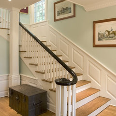 traditional staircase by Dennison and Dampier Interior Design
