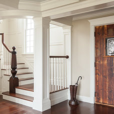 Beach Style Staircase by JS Interiors LLC