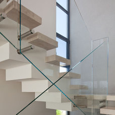 Modern Staircase by Polly