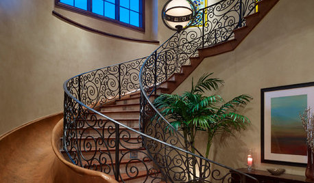 5 Staircase Designs With Curve Appeal