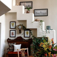 Eclectic Staircase by Earthcraft, Inc.