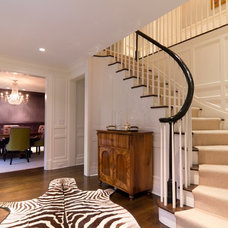 Traditional Staircase by Dave Tilly & Associates LLC