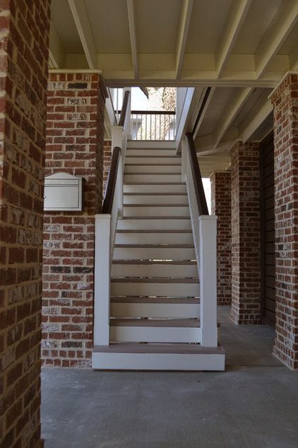 Traditional Staircase by RJ Elder Design