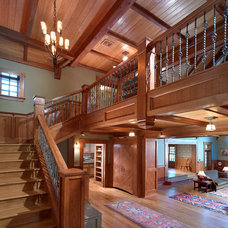 Craftsman Staircase by C. Raymond Davis & Sons
