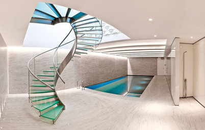 Spiral Staircases Have Their Turn in the Spotlight