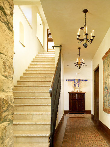 Mediterranean Staircase by RJ Dailey Construction Co.