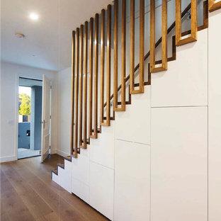 Modern White Staircase