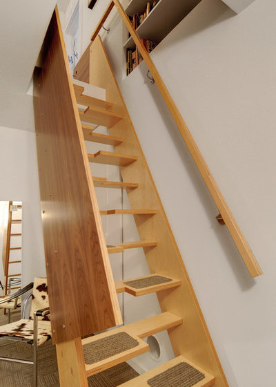 Contemporary Staircase by Imprint Architecture and Design, LLC