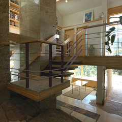 modern staircase by Frederick Gibson + Associates Architecture