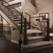 Traditional Staircase by The Stair Shoppe