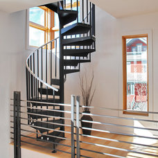 Modern Staircase by BARRETT STUDIO architects