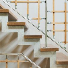 Contemporary Staircase by Sophie Metz Design