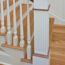 Traditional Staircase by Oldport Homes