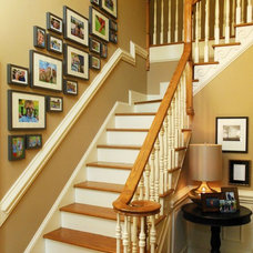 Traditional Staircase by the redesign company