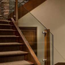 Contemporary Staircase by Manchester Architects, Inc.