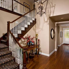 Traditional Staircase by Pacific Shoreline GC & Design