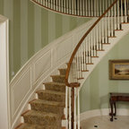 Staircase And Hallway Traditional Staircase San