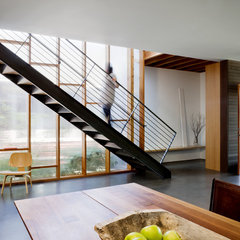modern staircase by MW|Works Architecture+Design