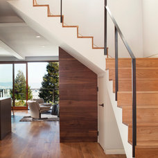 Contemporary Staircase by Quantum Windows & Doors, Inc.
