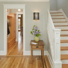 Traditional Staircase by CTA Design Builders, Inc.