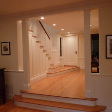Traditional Staircase by Aleck Wilson Architects