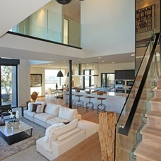 modern staircase by Bowery Design Group