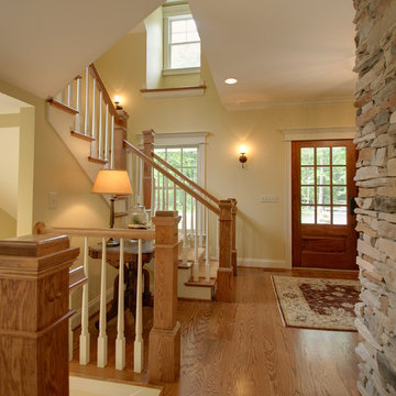 Quiet Casual Home: Entryway and Stair