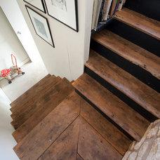 Farmhouse Staircase by Millar Howard Workshop