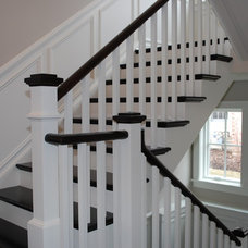 Traditional Staircase by Craig Ross