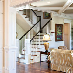 traditional staircase by Jamison Howard