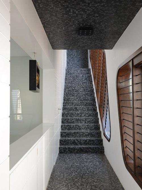 Photos et idées déco d'escaliers contemporains avec des ...