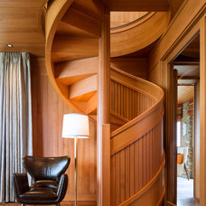 Contemporary Staircase by Carney Logan Burke Architects