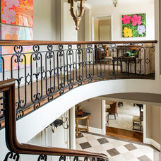 Traditional Staircase by Archer & Buchanan Architecture, Ltd.