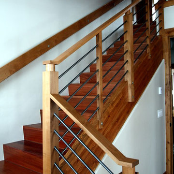 Railing Detail for Mountain Homes